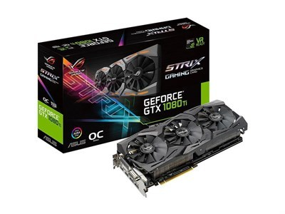 ASUS ROG Strix GeForce GTX 1080 Ti OC edition 11GB GDDR5