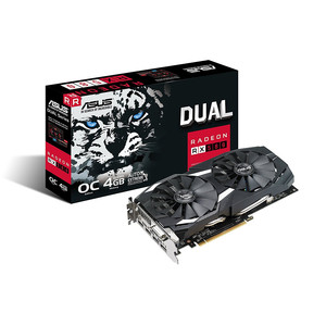 ASUS Dual Radeon RX 580 Graphics Card