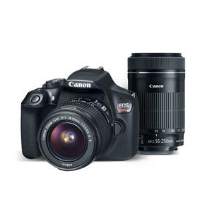 Canon EOS Rebel T6 EF-S 18-55 IS II & EF-S 55-250mm f/4-5.6 IS STM