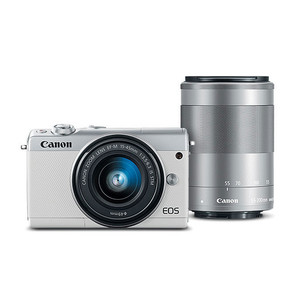 Canon EOS M100 EF-M 15-45mm & EF-M 55-200mm IS STM Kit