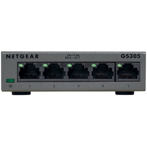 NETGEAR SOHO Gigabit Ethernet Switch - GS305