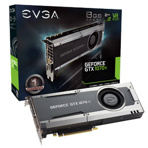 EVGA GeForce GTX 1070 Ti Gaming  8GB GDDR5 Graphics Card