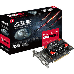 ASUS Radeon RX 550 Graphics Card