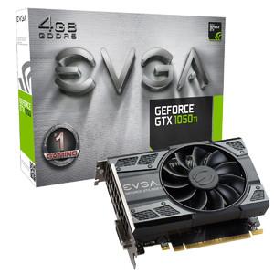 EVGA GeForce GTX 1050 Ti GAMING  4GB GDDR5  ACX 2.0 (Single Fan) Graphics Card