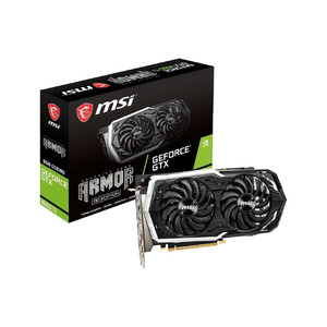 MSI GeForce GTX 1660 Ti ARMOUR 6G OC Graphics Card