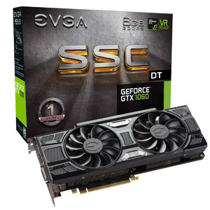 EVGA GeForce GTX 1060 SSC DT Gaming  6GB GDDR5  ACX 3.0 & LED Graphics Card