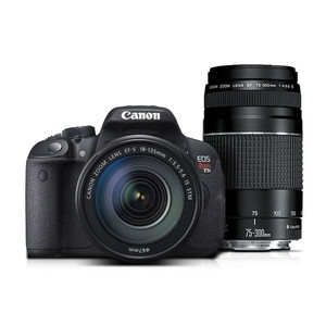 Canon EOS Rebel T5i EF-S 18-135 IS STM Lens Kit with EF 75-300mm f/4-5.6 III