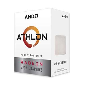 AMD Athlon 200GE Processor with Radeon Vega 3 Graphics