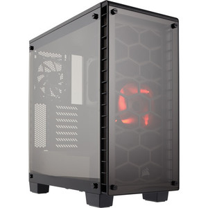 Corsair Crystal Series 460X Compact ATX Mid-Tower Case