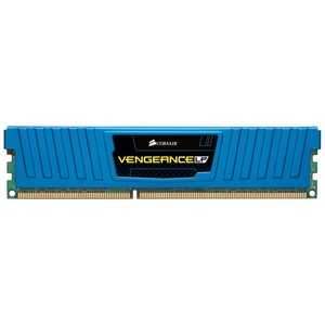 Corsair Vengeance Low Profile Blue - 8GB Dual Channel DDR3 Memory Kit