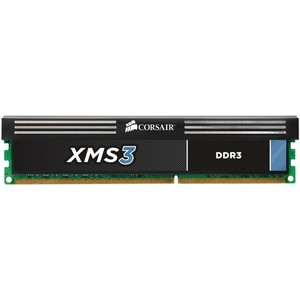Corsair XMS3 - 8GB (2x4GB) DDR3 1333MHz C9 Memory Kit