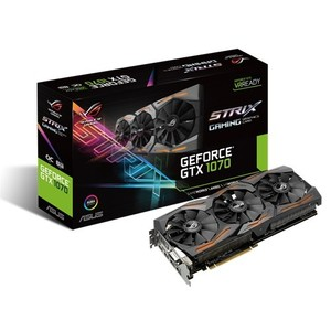 ASUS ROG Strix GeForce GTX 1070 Gaming Graphics Card - ROG STRIX-GTX1070-O8G-GAMING