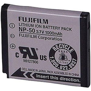 FUJIFILM NP-50 Rechargeable Lithium-Ion Battery (3.7v 1000mAh)