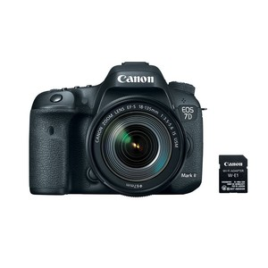 Canon EOS 7D Mark II EF-S 18-135mm IS USM Wi-Fi Adapter Kit