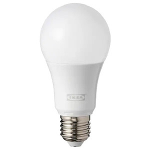 IKEA TRADFRI LED bulb E27 600 Lumen Wireless Dimmable Colour and White Spectrum Opal White