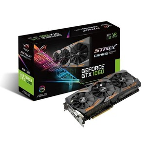 ASUS ROG Strix GeForce GTX 1060 Gaming Graphics Card