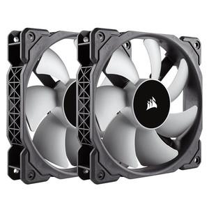 Corsair PWM Premium Magnetic Levitation Fan - Twin Pack