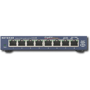 NETGEAR ProSafe 5-port and 8-port Gigabit Switch - GS108