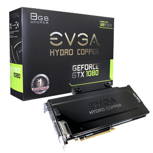 EVGA GeForce GTX 1080 FTW GAMING  8GB GDDR5X  HYDRO COPPER & RGB LED Graphics Card