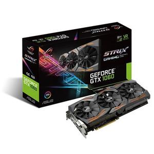 ASUS ROG Strix GeForce GTX 1060 Gaming Graphics Card - ROG STRIX-GTX1060-O6G-GAMING