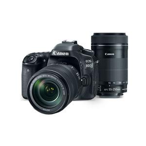 Canon EOS 80D EF-S 18-135mm IS USM & EF-S 55-250mm f/4-5.6 IS STM
