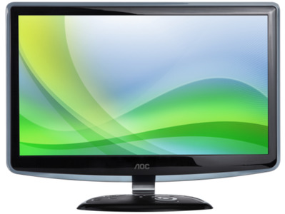 AOC E2240VW LED Monitor UHD Screen 1920 x 1080px / 60Hz 22 inches
