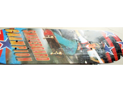 Wooden Skate Board - Large with light in wheels TR1022017