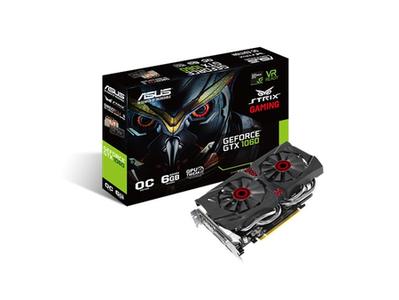 ASUS GTX1060 DC2O6G Strix GeForce NVIDIA 6GB Graphic Card