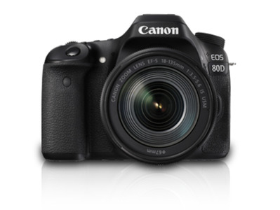 Canon Eos 80D 18-135mm IS USM DSLR Camera