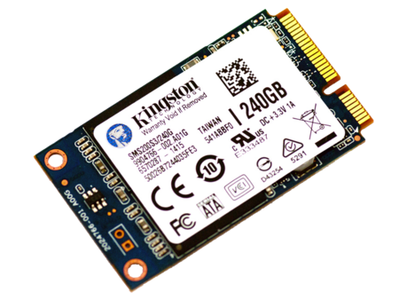 Kingston SMS200S3 240GB SSDNow Internal Hard Drive mSATA 6Gbps
