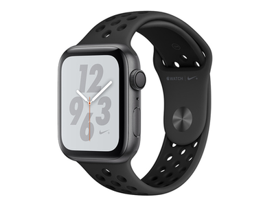 Apple Watch MU6J2 40mm Series 4 Space Gray Aluminum Case with Anthracite/Black Nike Sport Band With GPS