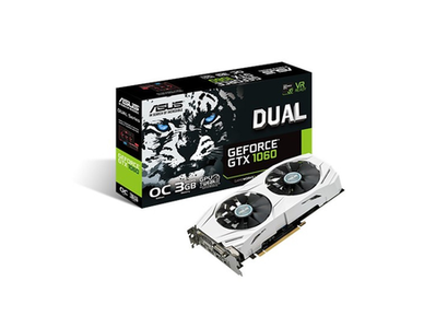 Asus Dual GTX 1060 O3G Graphics Cards