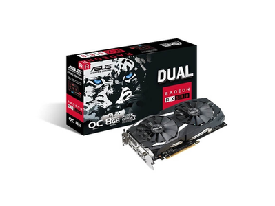 Asus Dual RX580 O8G Graphics Cards