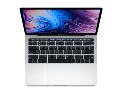 Apple MacBook Pro MV992 With Touch Bar Core i5 8th Generation 8GB RAM 256GB SSD (13-inch  Silver  2019)