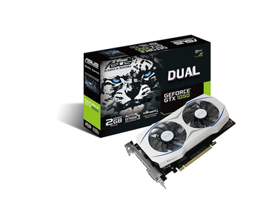 ASUS Dual Series GeForce GTX 1050 O2G V2 Graphic Card