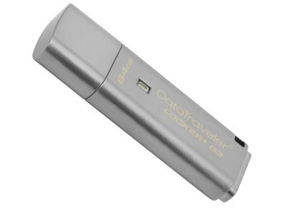 Kingston DTLPG3 64GB USB 3.0 DT Locker+G3 Automatic Data Security