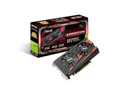 Asus Expedition GeForce Ph-GTX 1050 Ti 4GB Graphics Card