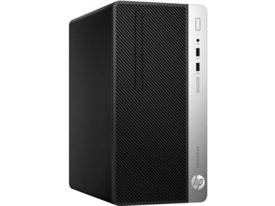 HP ProDesk 400 G5 MT Core i3 8th Generation 4GB RAM 1TB HDD Desktop Computer