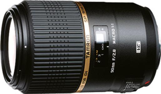 Tamron SP 90mm F/2.8 DI 1:1 Macro 272E
