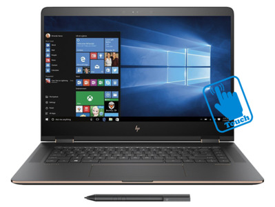 HP Spectre X360 15T Convertible Core i7 7th Generation Laptop 16GB DDR4 512GB SSD 2GB NVIDIA