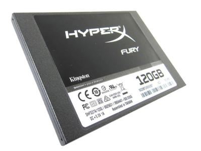 Kingston SHFS37A 120GB HYPERX FURY SSD Internal hard Drive SATA3 2.5 7mm