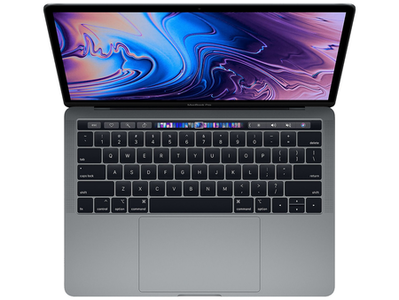 Apple MacBook Pro MV962 With Touch Bar Core i5 8th Generation 8GB RAM 256GB SSD (13-inch  Space Gray  2019)