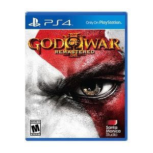 God of War 3 Remastered  Ps4 Game