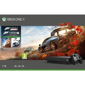 Xbox One X 1TB console Forza bundle