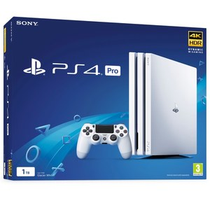 PlayStation 4 Pro 1TB White Console
