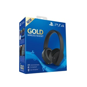 Sony PlayStation New Gold Wireless Headset 2018