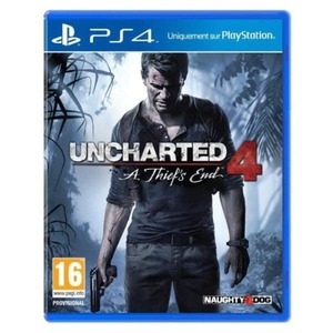 Uncharted 4: A Thiefs End  Ps4 Game