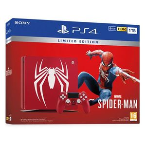 Playstation 4 Pro 1Tb Limited Edition Console  Spider-Man Bundle