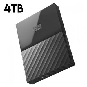 WD My Passport 4TB Portable External Hard Drive Black