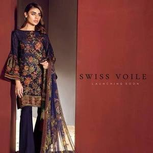 *Baroque swiss collection 2019 * Collection(Replica)(Unstitched)
